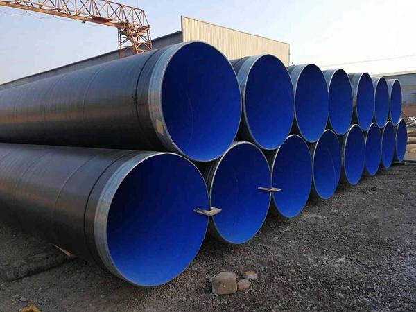 外3PE内环氧粉末防腐螺旋钢管