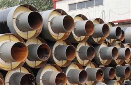耐高温钢套钢蒸汽保温螺旋钢管