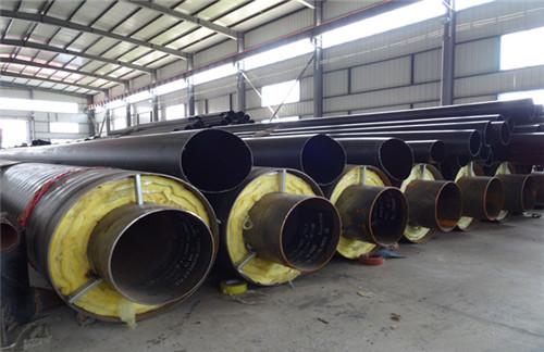 钢套钢蒸汽保温螺旋钢管